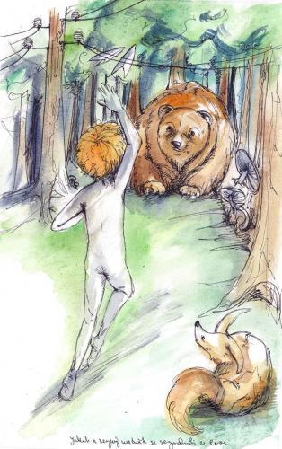Jakub a Rezavý medvěd 1