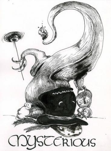 Inktober - Mysterious